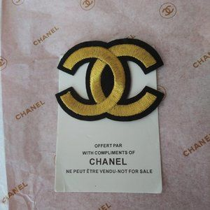 Chanel VIP Customer Gift Gold with Black CC Logo P